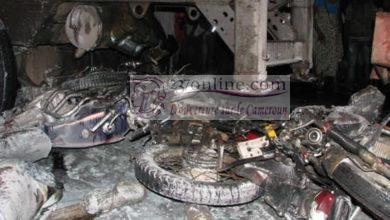 Accident à Douala