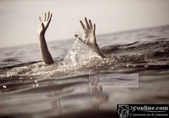 Personne entrain de se noyer