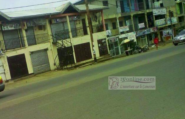 Villes mortes à Bamenda