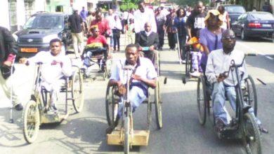 Course handicapé