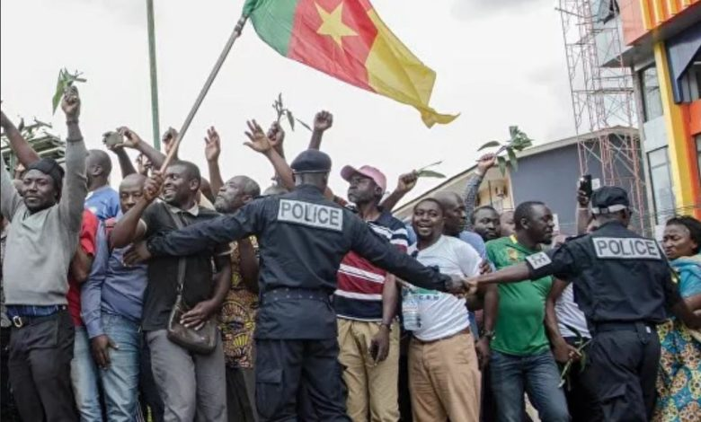 Marche du 22 septembre à Douala