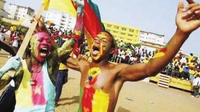 fans des lions du cameroun