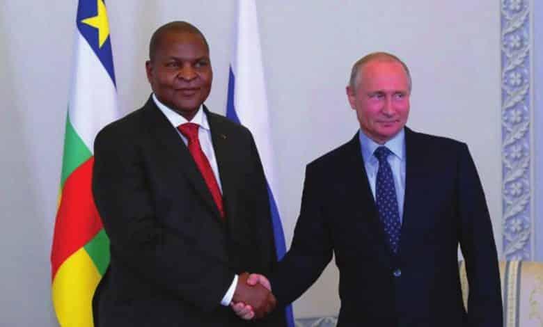 RCA et Russie partenaires