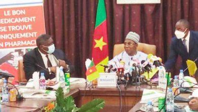 Ministre Malachie et SG MINCOM