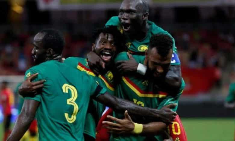 Les lions jubilent après un but