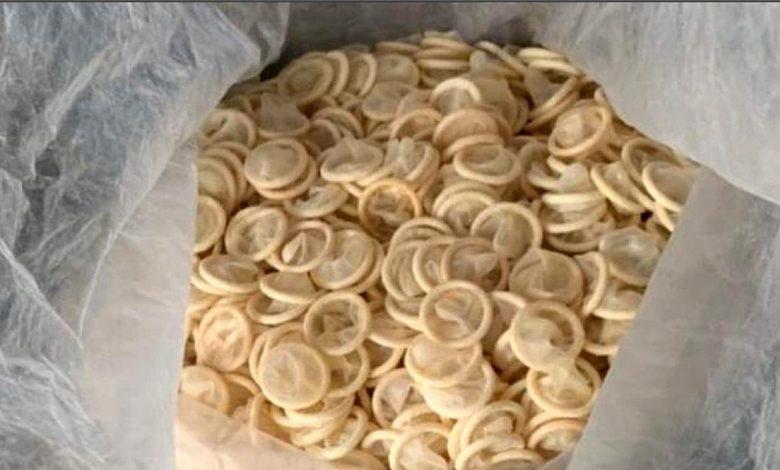 préservatifs déjà utilisés